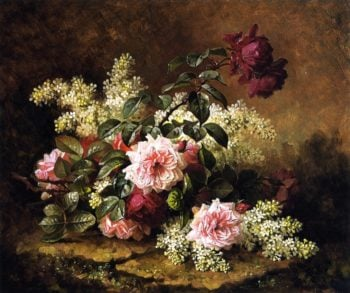 Roses | Raoul de Longpre | oil painting