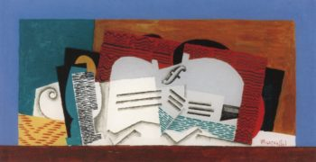 Glass and Violin | Louis Marcoussis | oil painting