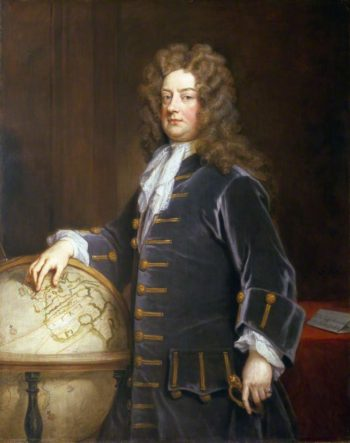 Admiral Edward Russell 1st Earl of Orford | Sir Godfrey Kneller | oil painting