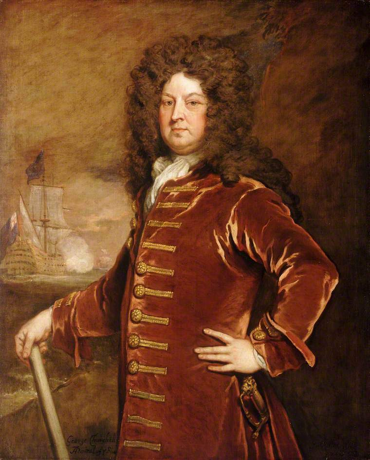 Admiral George Churchill | Sir Godfrey Kneller | oil painting