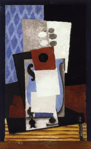 Jug and Card | Louis Marcoussis | oil painting