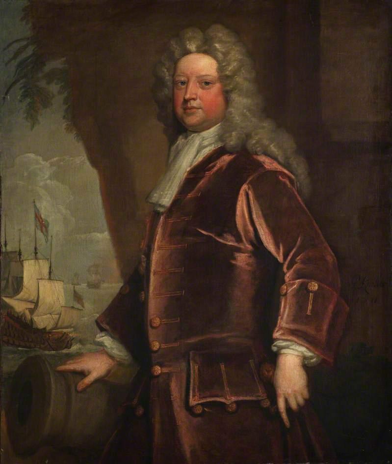 Admiral Sir John Norris | Sir Godfrey Kneller | oil painting