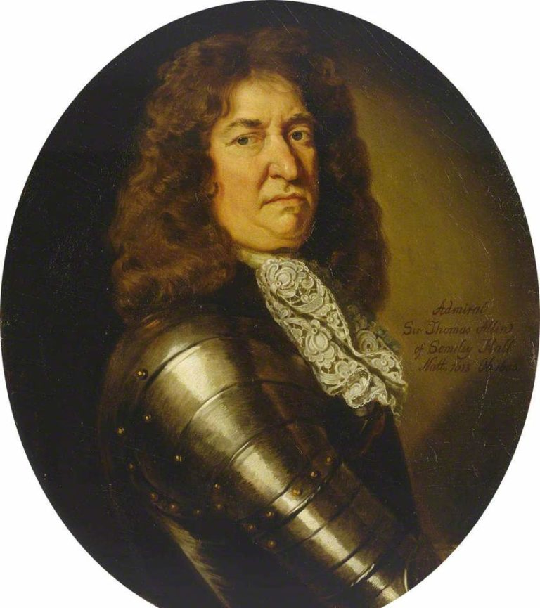 Admiral Sir Thomas Allin | Sir Godfrey Kneller | oil painting