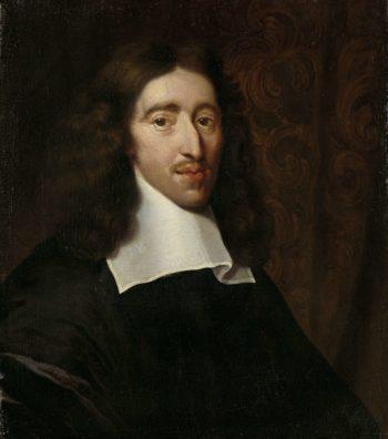 Johan de Witt (1625-72). Grand Pensionary of Holland. 1660 - 1700 | Caspar Netscher | oil painting