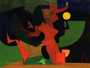 Nuit II | Louis Marcoussis | oil painting