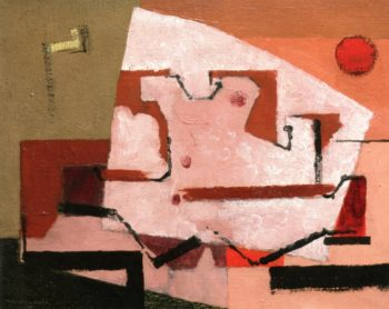 Shell in Red Sunlight | Louis Marcoussis | oil painting