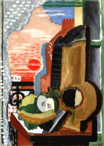 Still Life in front of the Window | Louis Marcoussis | oil painting