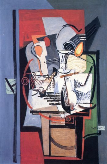 Still Life IV | Louis Marcoussis | oil painting