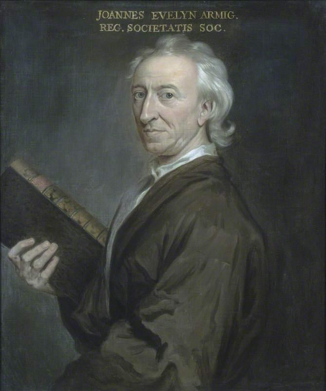 John Evelyn | Sir Godfrey Kneller | oil painting