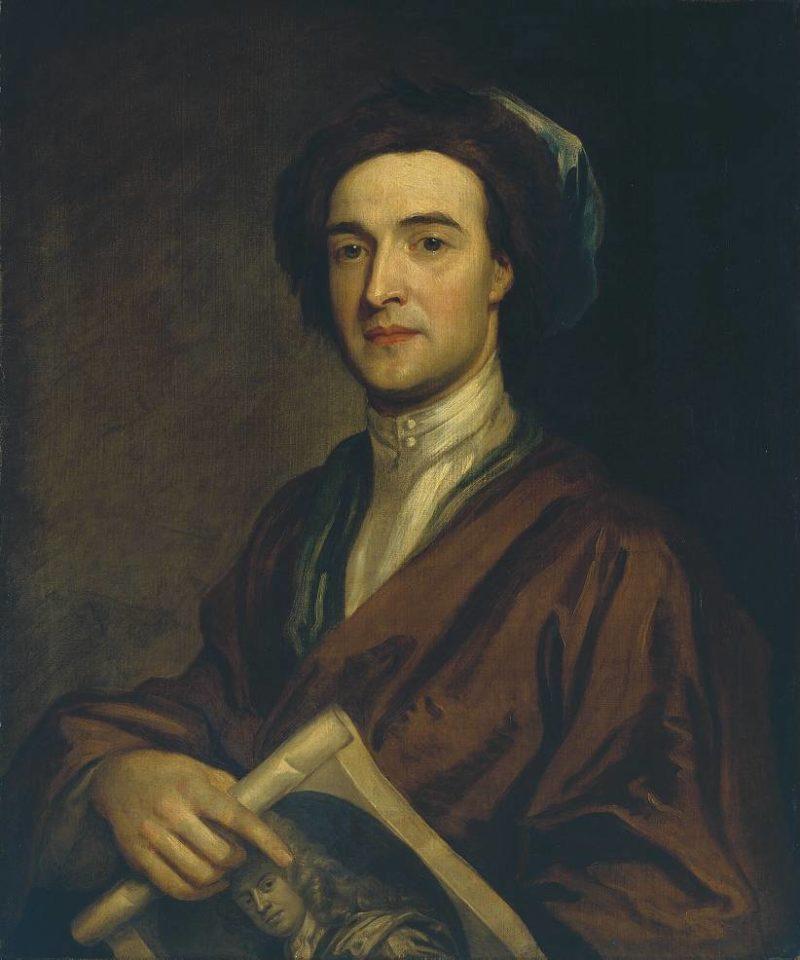 John Smith the Engraver | Sir Godfrey Kneller | oil painting