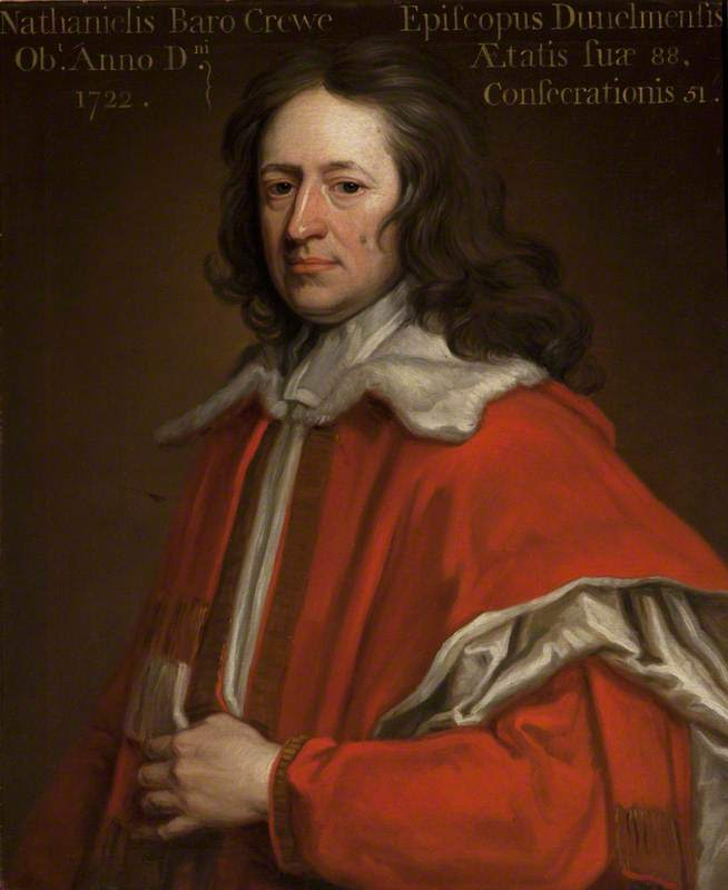 Nathaniel Crew | Sir Godfrey Kneller | oil painting