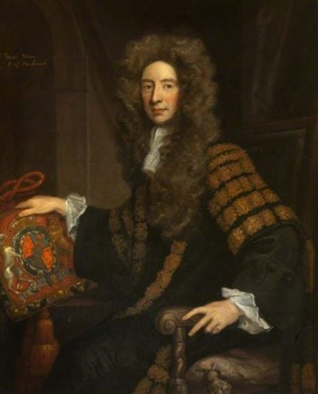 Patrick Hume 1st Earl of Marchmont | Sir Godfrey Kneller | oil painting
