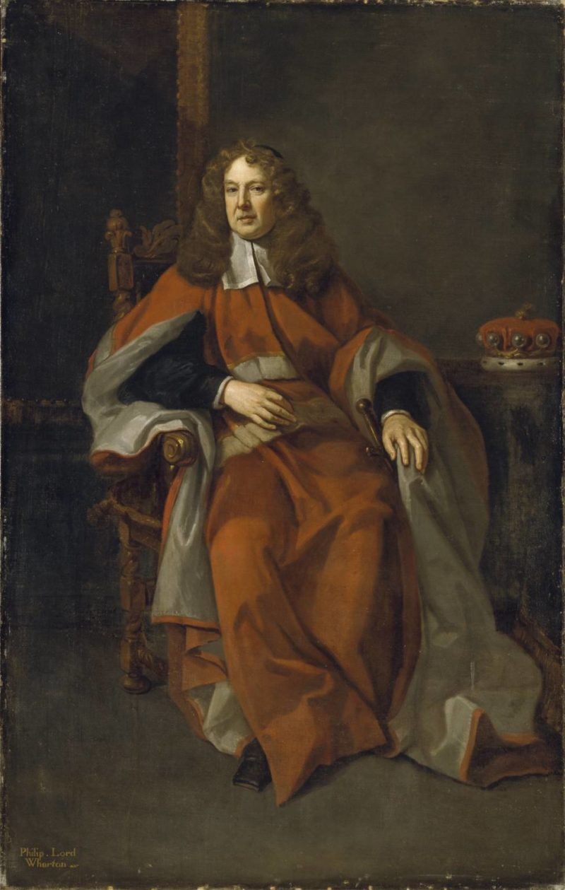 Philip 4th Lord of Wharton | Sir Godfrey Kneller | oil painting