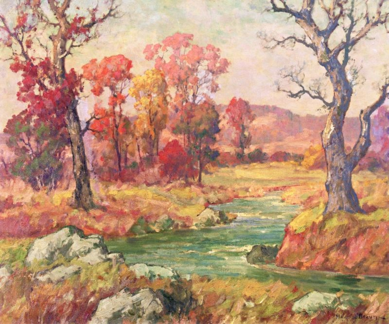 Autumn | Maurice Braun | oil painting