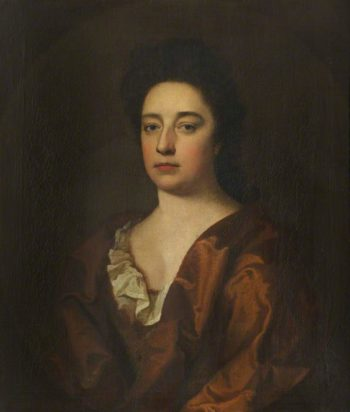 Portrait of an Unknown Lady in a Red Dress | Sir Godfrey Kneller | oil painting