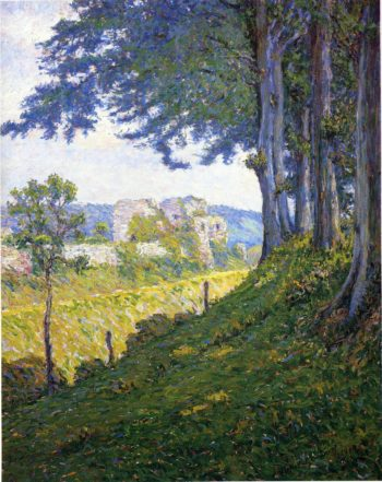 Chateau d'Arques Dieppe | Maurice Braun | oil painting