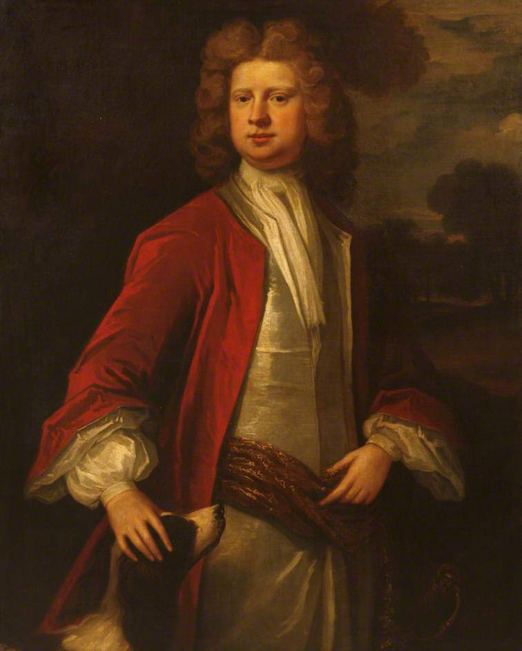 Richard Edgcumbe 1st Baron | Sir Godfrey Kneller | oil painting