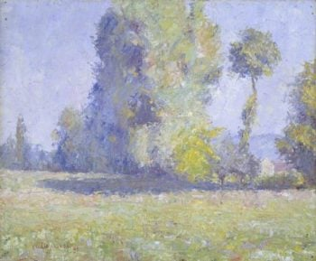 French Landscape | Maurice Braun | oil painting