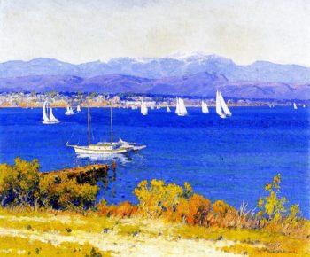 Glorietta Bay San Diego | Maurice Braun | oil painting