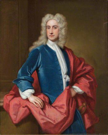 Samuel Sandys 1st Baron Sandys of Ombersley | Sir Godfrey Kneller | oil painting