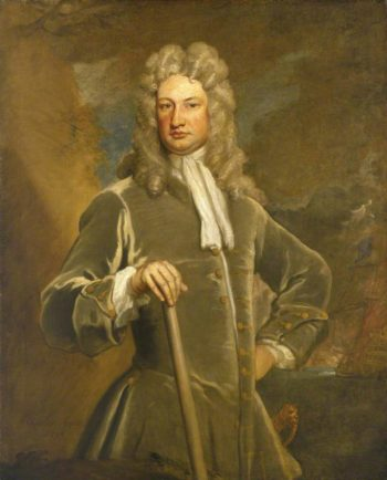 Sir Charles Wager | Sir Godfrey Kneller | oil painting