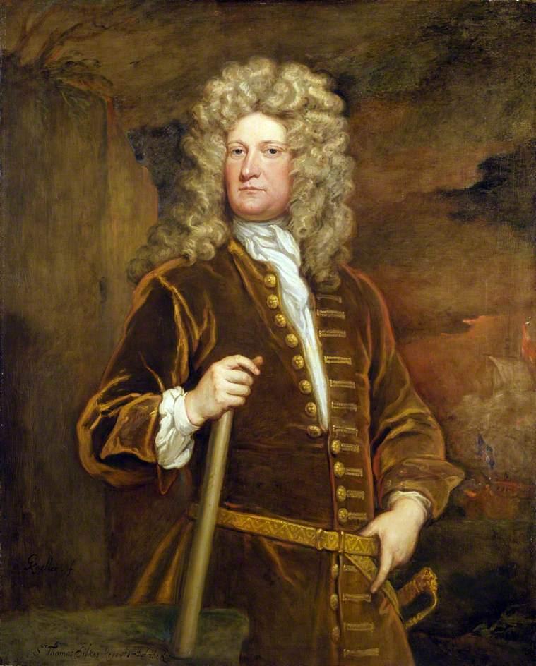 Sir Thomas Dilkes | Sir Godfrey Kneller | oil painting