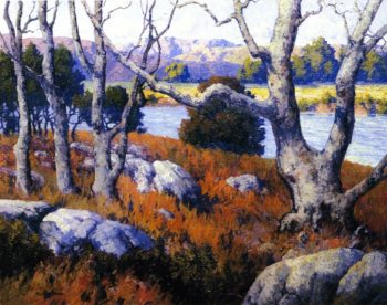 San Diego River | Maurice Braun | oil painting