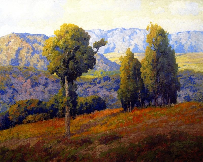 Southern California Hills   Maurice Braun   oil painting