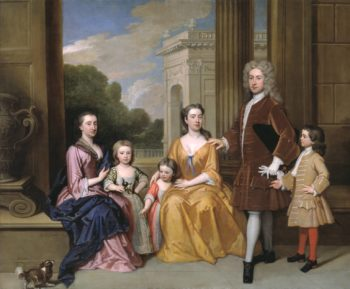 The Harvey Family | Sir Godfrey Kneller | oil painting