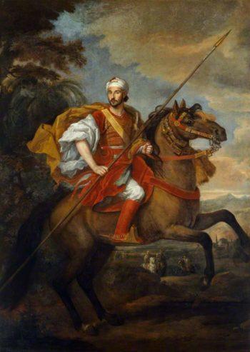 The Moroccan Ambassador | Sir Godfrey Kneller | oil painting