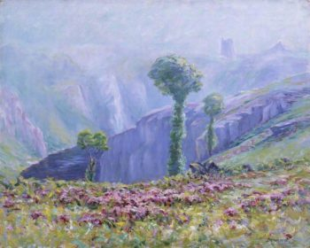Summer Mist Valley of La Creuse | Maurice Braun | oil painting