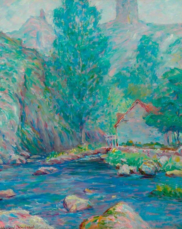 The Brigand's Mill | Maurice Braun | oil painting