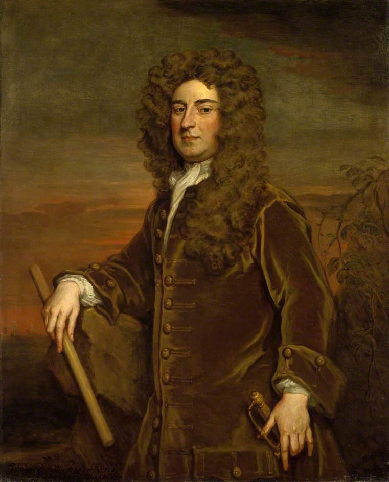 Vice Admiral John Graydon | Sir Godfrey Kneller | oil painting