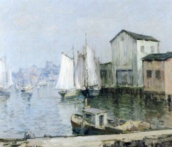 View from Coronander Island | Maurice Braun | oil painting