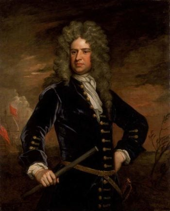 Vice Admiral Sir Stafford Fairborne | Sir Godfrey Kneller | oil painting