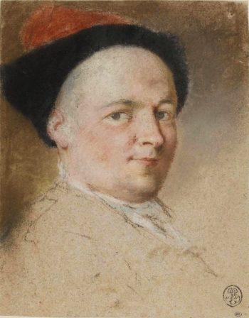 Self Portrait   Nicolas Vleughels   oil painting