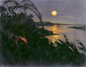 Australian Landscape 2 | Stanislaw Ignacy Witkiewicz | oil painting