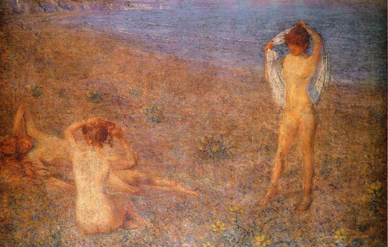 A Summers Evening | Philip Wilson Steer | oil painting