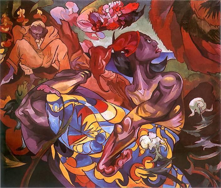 A Visit to the Raja | Stanislaw Ignacy Witkiewicz | oil painting