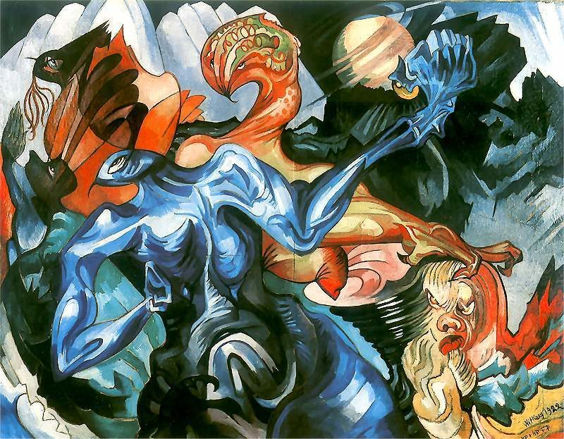 Composition | Stanislaw Ignacy Witkiewicz | oil painting