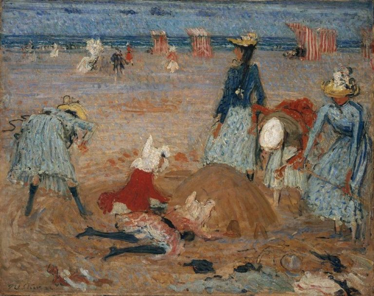 Boulogne Sands | Philip Wilson Steer | oil painting
