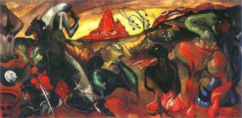 Fantasy | Stanislaw Ignacy Witkiewicz | oil painting
