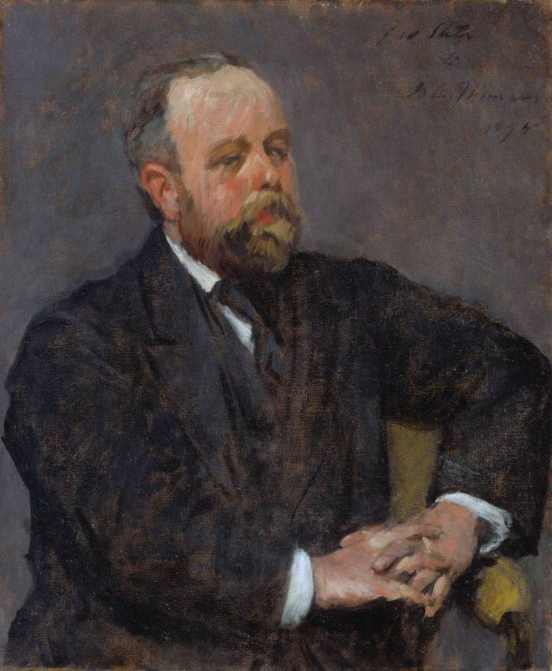 David Croal Thomson   Philip Wilson Steer   oil painting