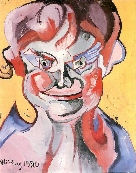 Laughing boy | Stanislaw Ignacy Witkiewicz | oil painting
