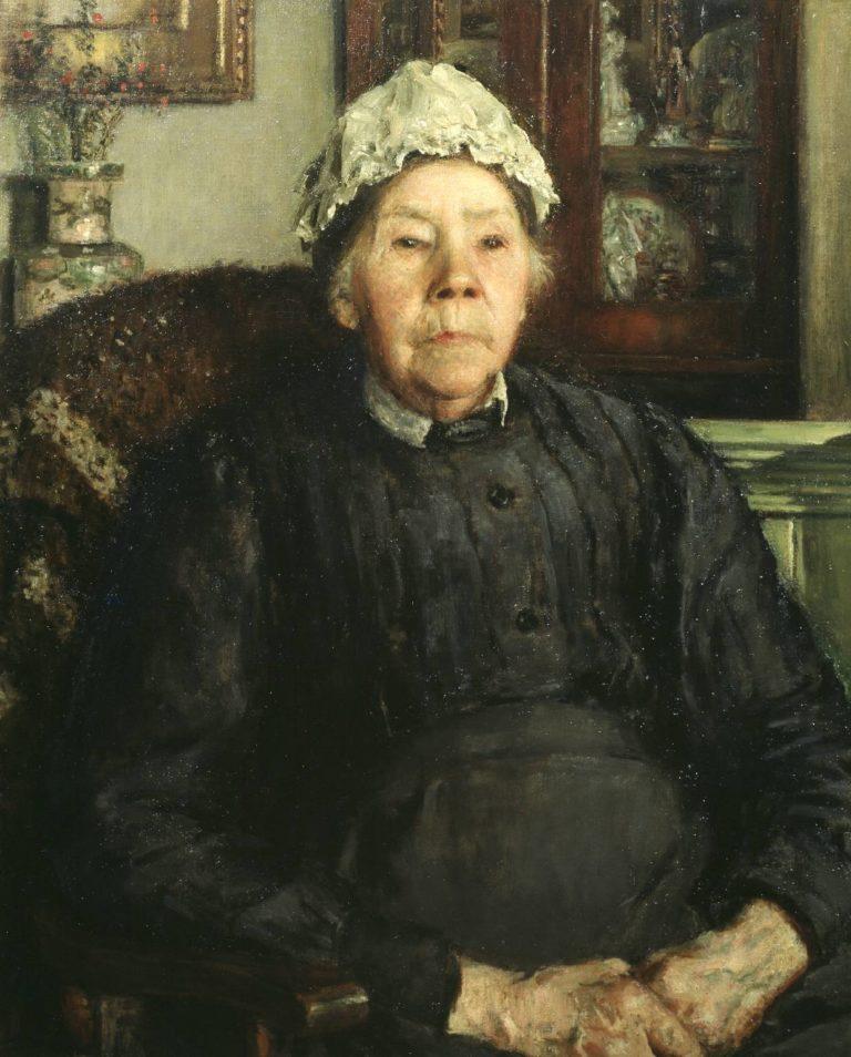 Mrs Raynes   Philip Wilson Steer   oil painting