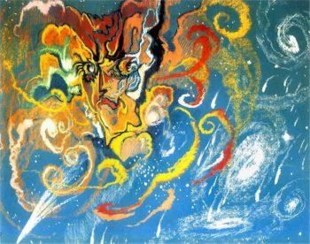 Nova Aurigae | Stanislaw Ignacy Witkiewicz | oil painting