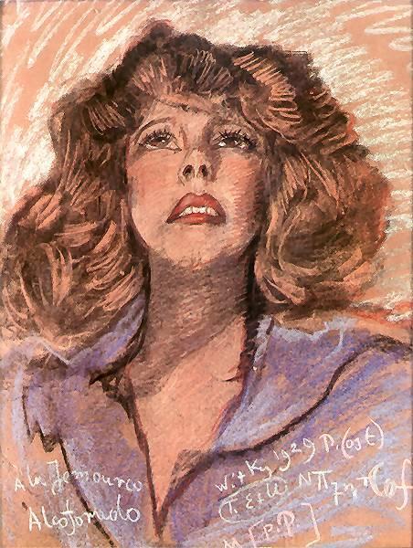 Portrait of a Woman   Stanislaw Ignacy Witkiewicz   oil painting