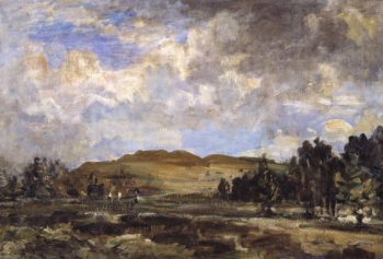 Painswick Beacon | Philip Wilson Steer | oil painting