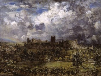 Richmond Castle | Philip Wilson Steer | oil painting