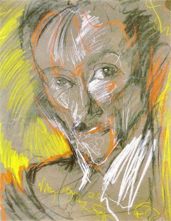 Portrait of Marceli Staroniewicz 1 | Stanislaw Ignacy Witkiewicz | oil painting